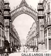 Malaga Larios Street In 1981