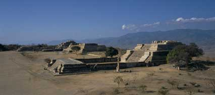 Temples at Monte Alban