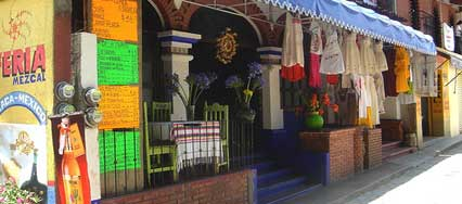 Shops in Oaxaca