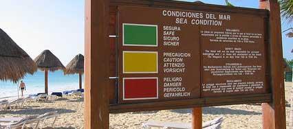 Beach Flag System