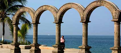 Seaside Arches on the Malecón, Puerto Vallarta