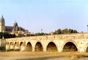 Romam Bridge and Cathedral
