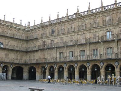 Main Square of Salamanca