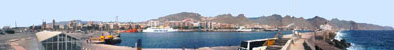 The Port of Santa Cruz de Tenerife