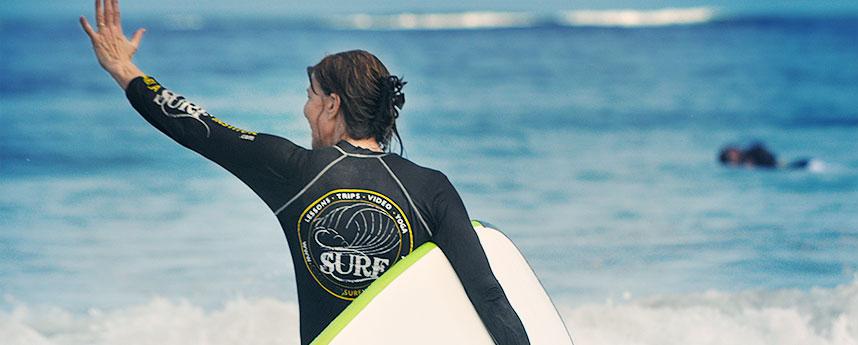 Surfen in Cadiz