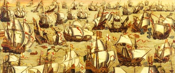 an analysis of the great naval battle between spain and england in 1588 It should however, be remembered that england had only 24 ships to spain's   another area of english success was the battle of gravelines on the 8th august  1588  two days later the armada met with the english at the battle of  gravelines  to this, the communication between commanders had to take place  by sea,.