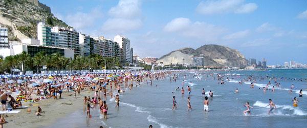 Spanje in de zomer