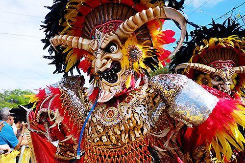 El carnaval de Santo Domingo