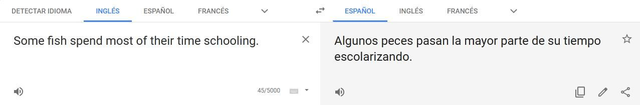 Google Translate fails in Spanish with polysemy