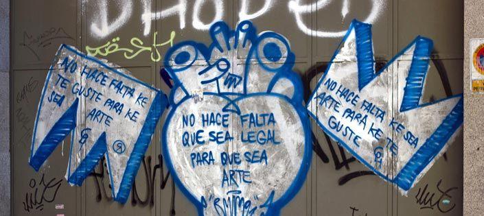 Graffiti Madrid