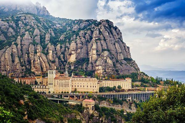 Abadía de Santa María en Montserrat