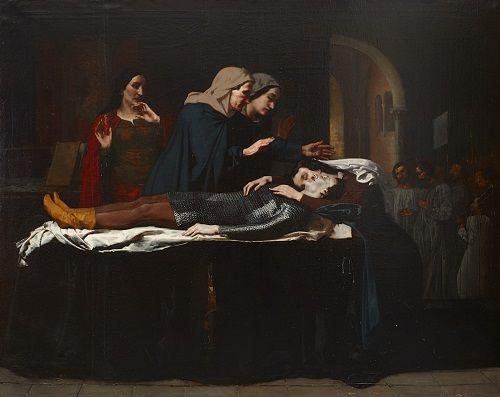 Cuadro de Los amantes del Teruel en el Museo del Prado