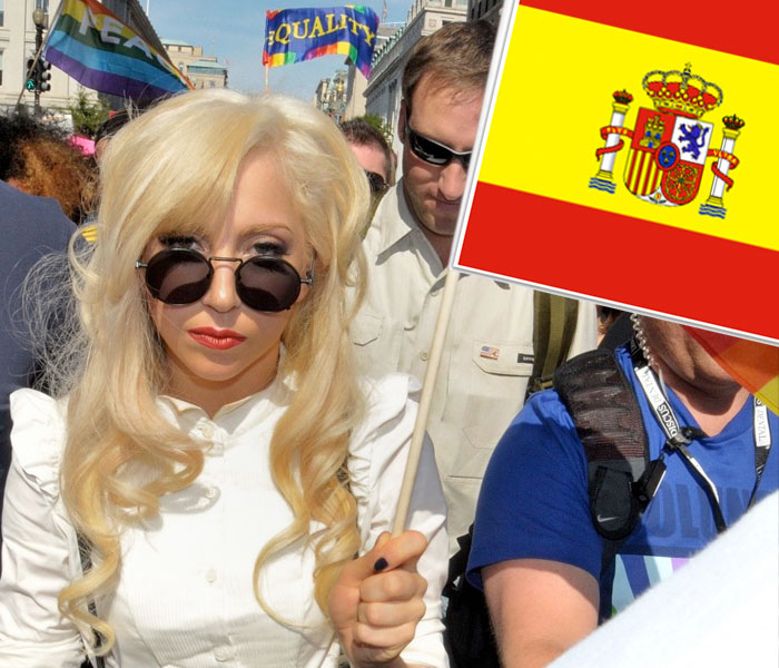 Lady Gaga, Spanish Flag