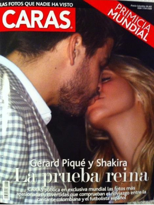 Shakira, Pique kiss
