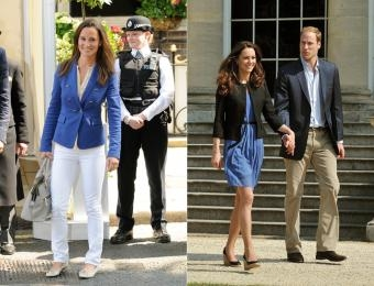Pippa and Kate Fashion
