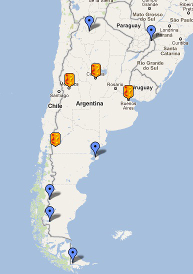 Where Is Argentina Argentina Map Places To Visit In - Argentina travel map