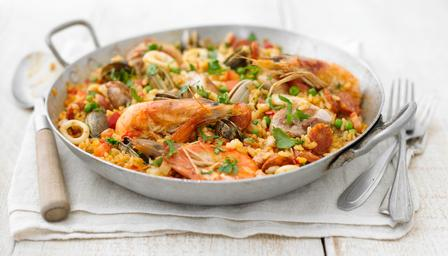 Paella Mixta from Spain