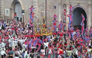 Festival in Algemesi Valencial