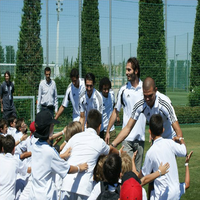 Barcelona football camp