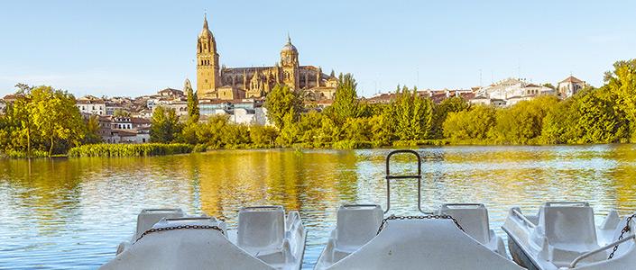 See Salamanca by boat