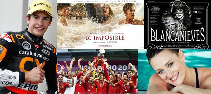 Spain success 2012