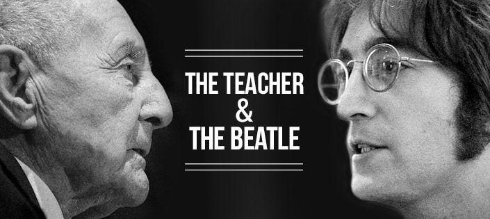 Juan Carrión and John Lennon