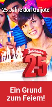 Feiern sie unser 25-Jähriges Jubiläum