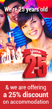 Celebrate our 25th Anniversary