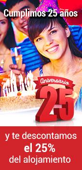 Celebra nuestro 25 Aniversario