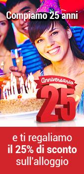 Festeggia il nostro 25 Anniversario
