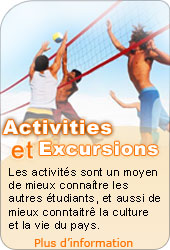 Activities et Excursions