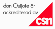 don Quijote r ackrediterad av CSN
