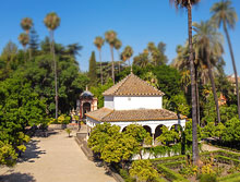 The Alcazar Garden  in Seville