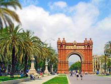 Ciudadela Park in Barcelona