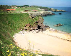 Beach in Northern Spain