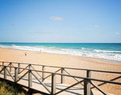 Beach in Cadiz