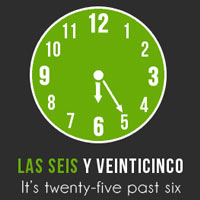 The time in Spanish