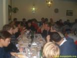 Cena de bienvenida en Granada, 11 de noviembre de 2002