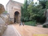 Entrance gate of justice