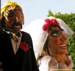 Mojigangas at wedding