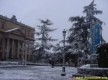 Plaza de Anaya covered by the Snow