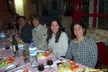 Welcome dinner in Salamanca. April 20th. 2004
