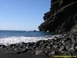 la playa en Masca