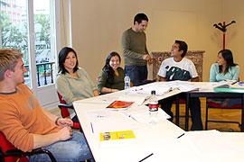 Begeleidde groepslessen tijdens je cursus Spaans