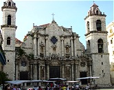 Learn Spanish in Habana, Cuba. The Cathedral