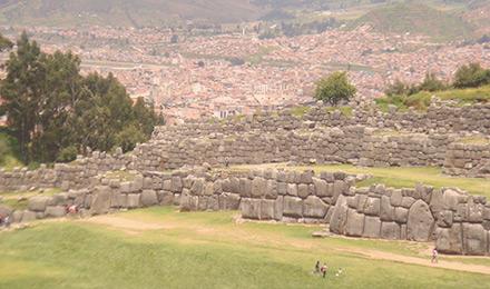 Het historische Saqsaywaman