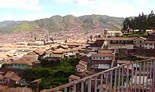 A view of Cuzco