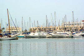 De haven van Alicante