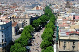 Las Ramblas