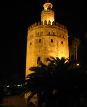La Torre dell' Oro a Siviglia